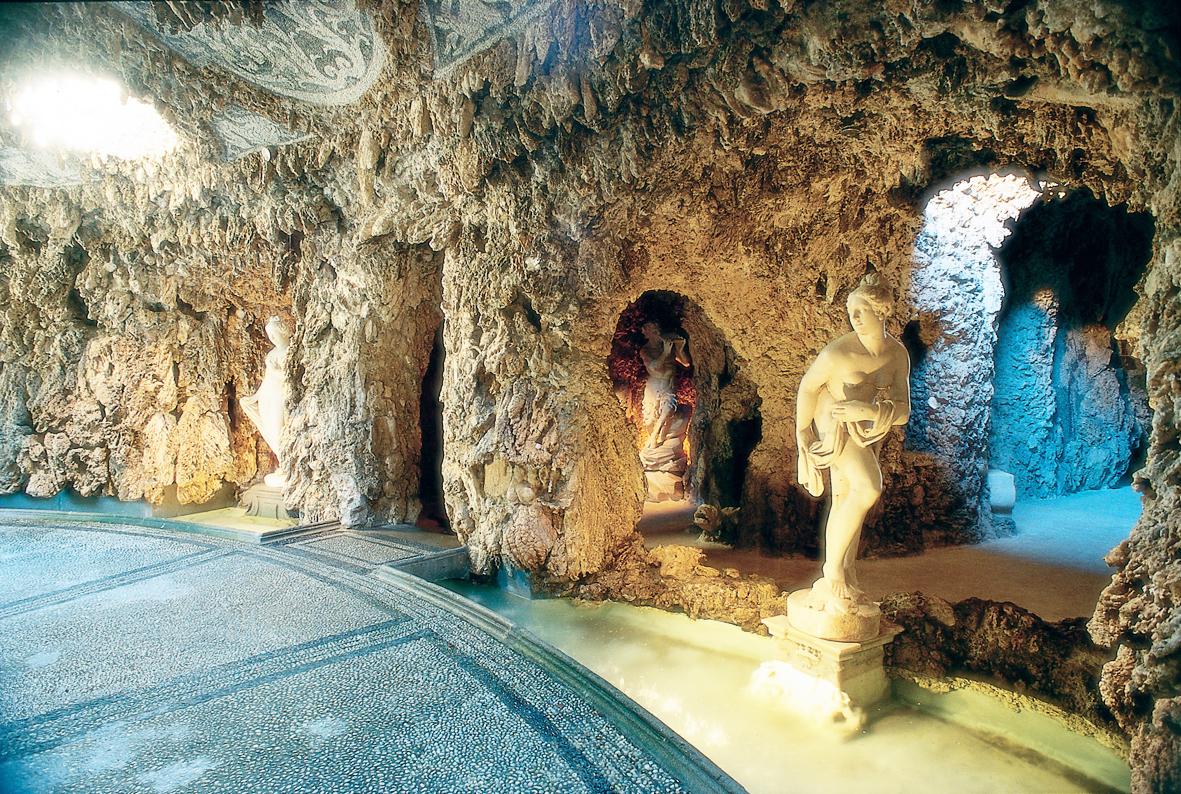 Inside the Nimphaeum