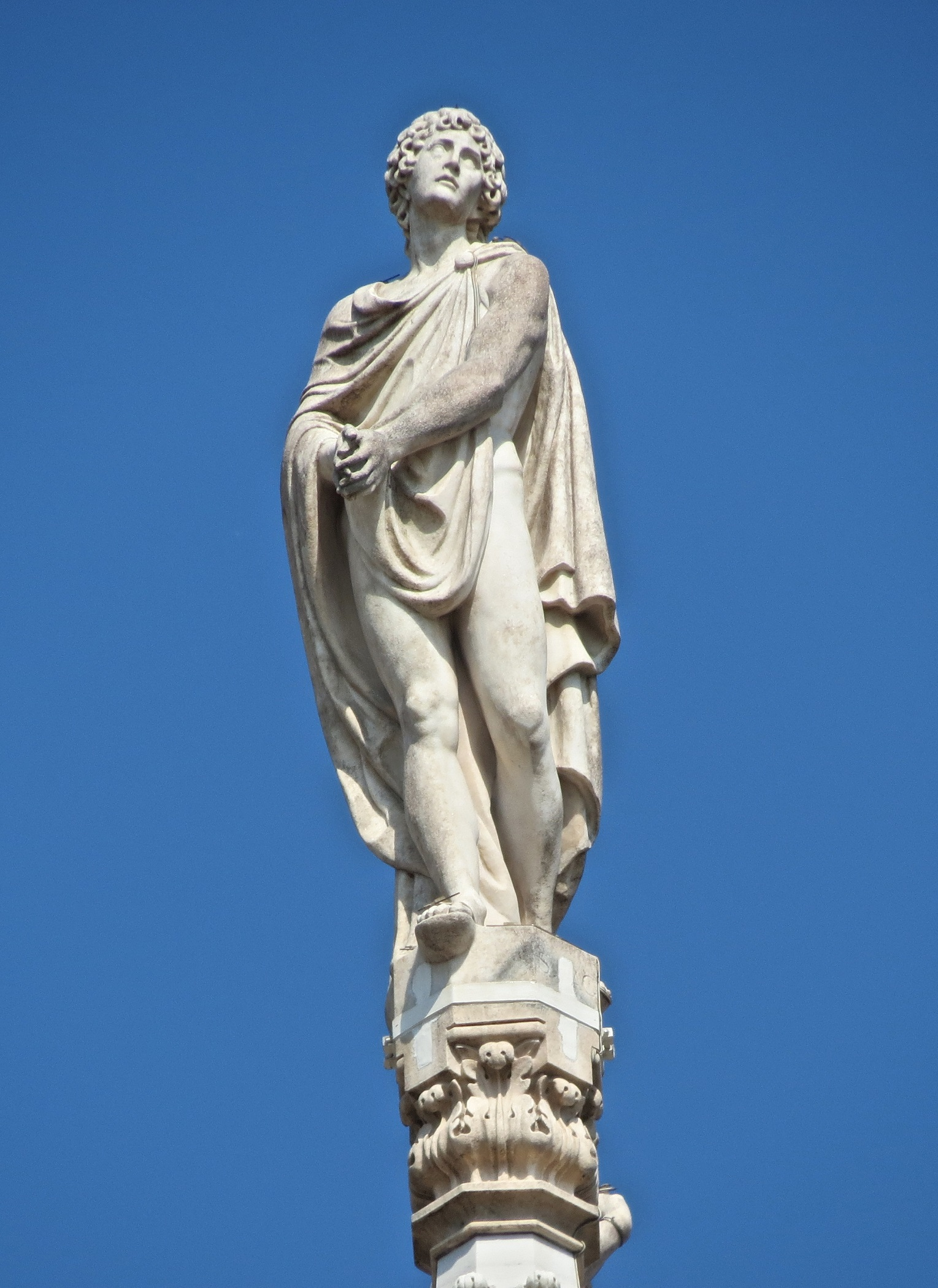 The statue of Saint Agricola