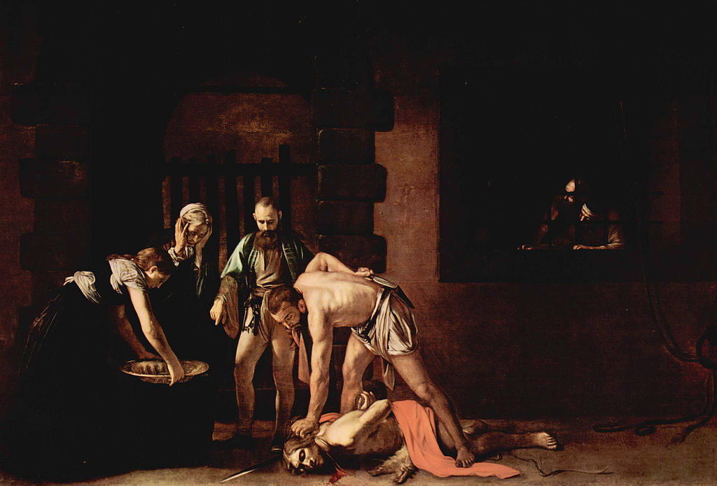 The Beheading of Saint John the Baptist.