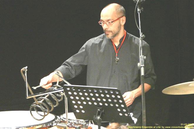 Divertimento Ensemble playing contemporary